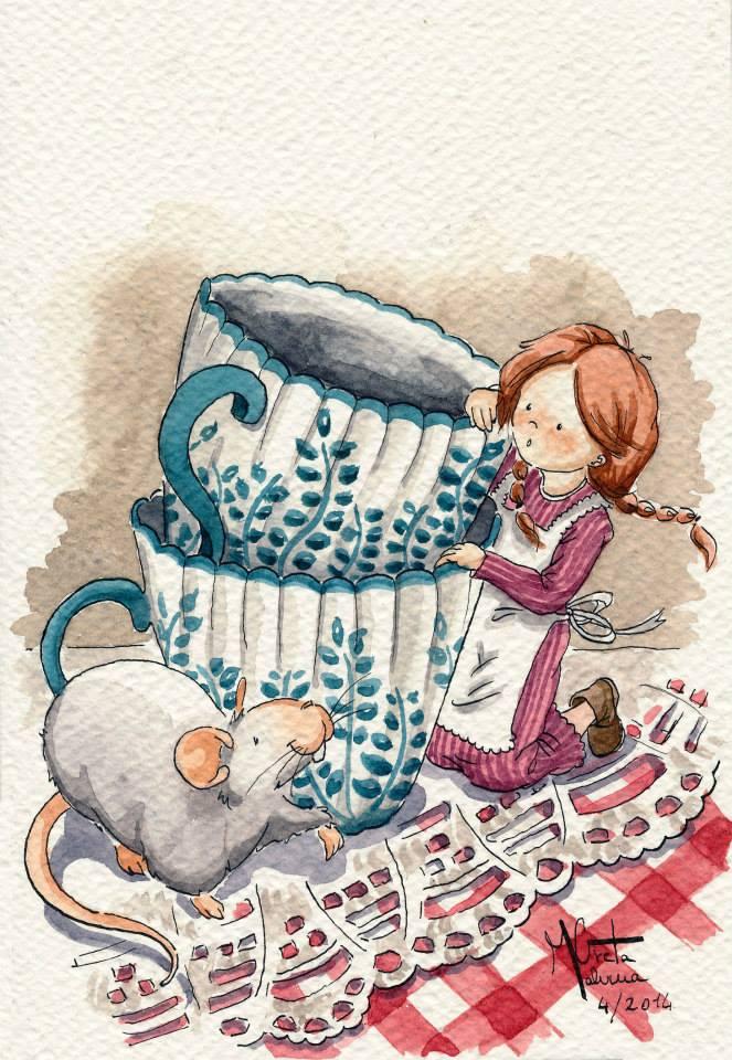 La bimba e il topolino
