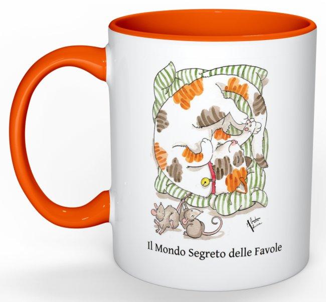 tazza arancione